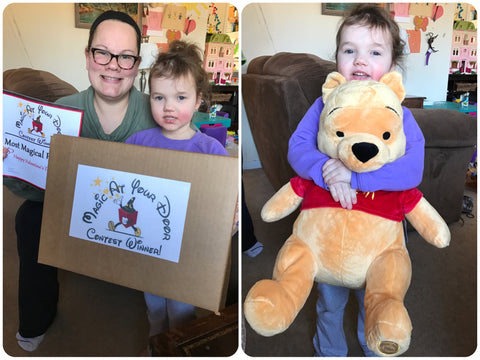 A Very Special Valentine's Day Surprise For This Little Princess