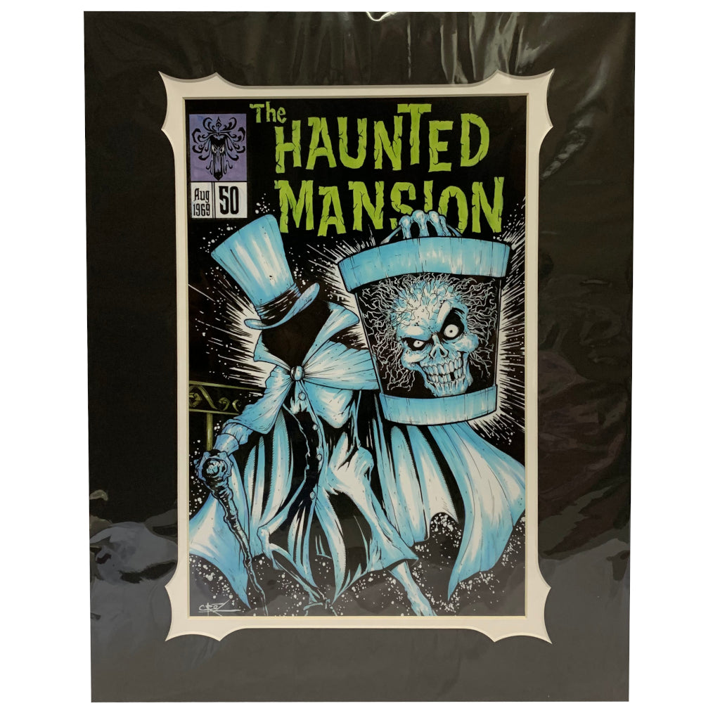 "Wishlist - Art: Haunted Mansion 50th Anniversary - The Haunted Mansion #50 (16"" x 20"")*"