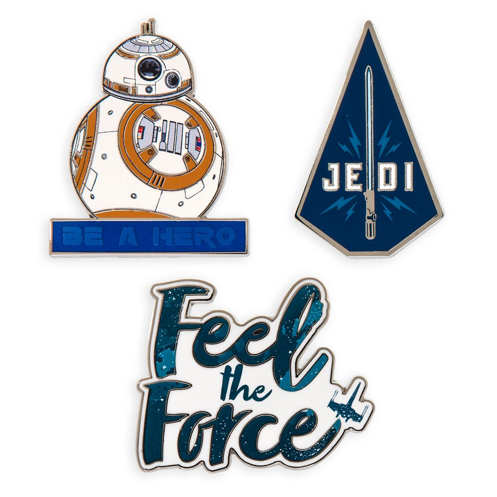 Wishlist - Pins: Star Wars: The Rise of Skywalker Quote Pin Set