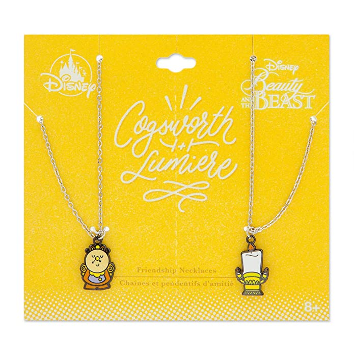 Wishlist - Jewelry (Friendship Necklace Set): Cogsworth & Lumiere