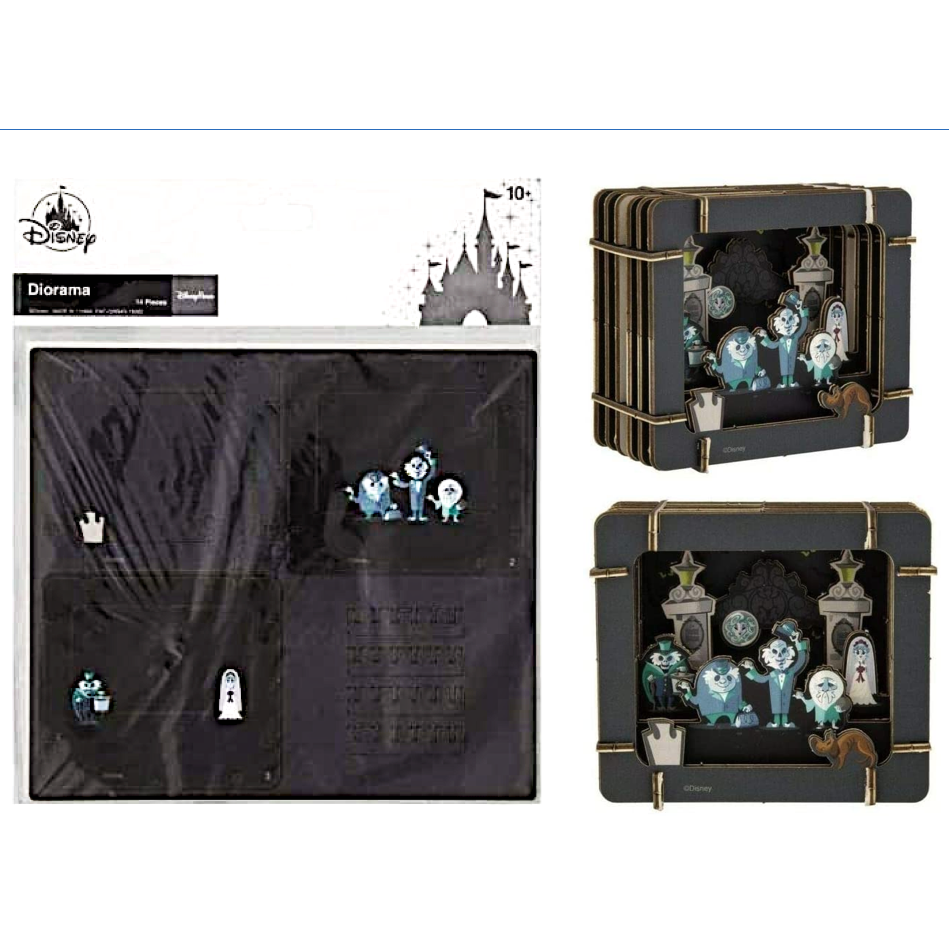 Wishlist - Diorama: Haunted Mansion Hitchhiking Ghosts