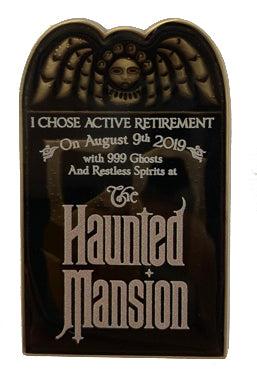 Limited Edition 2019 Disney Halloween Nuthin' But Mansion One Time Magic Box