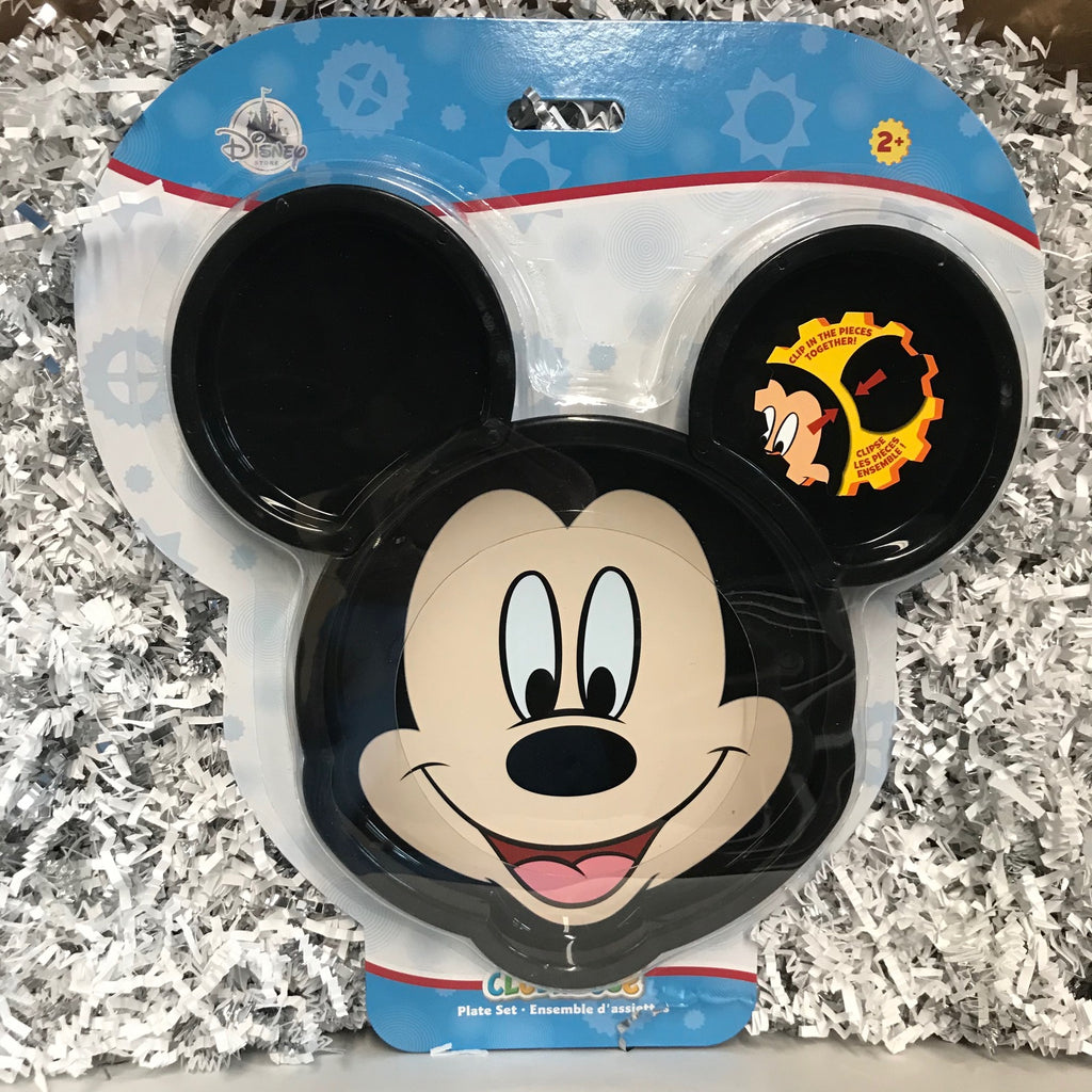 Clip Plate: Mickey Mouse