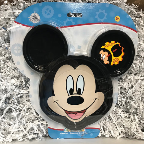 Wishlist - Clip Plate: Mickey Mouse