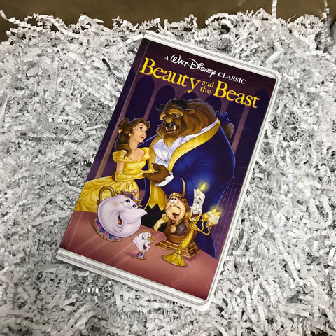 Journal - Beauty and the Beast VHS