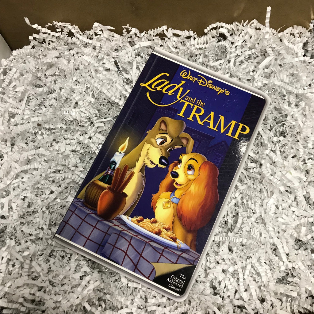 Journal - Lady and the Tramp VHS