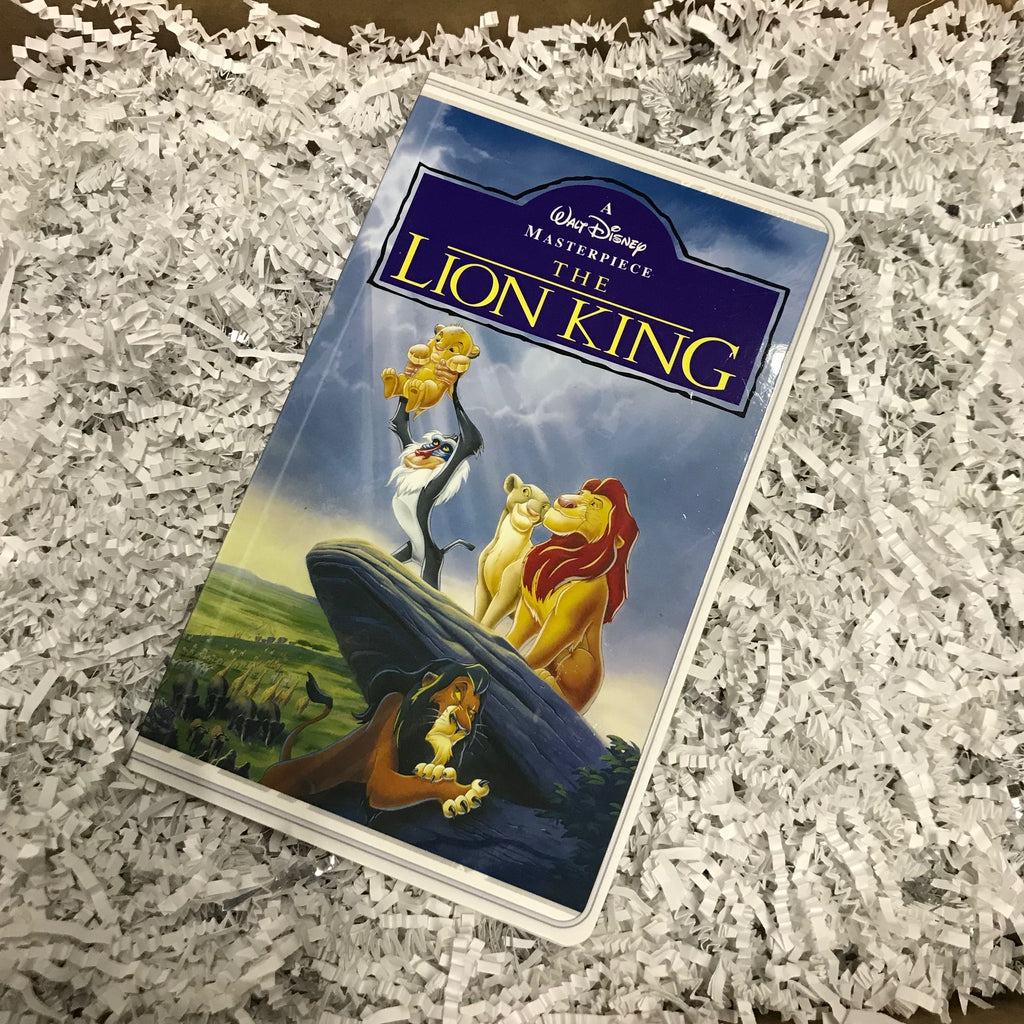 Journal - Lion King VHS