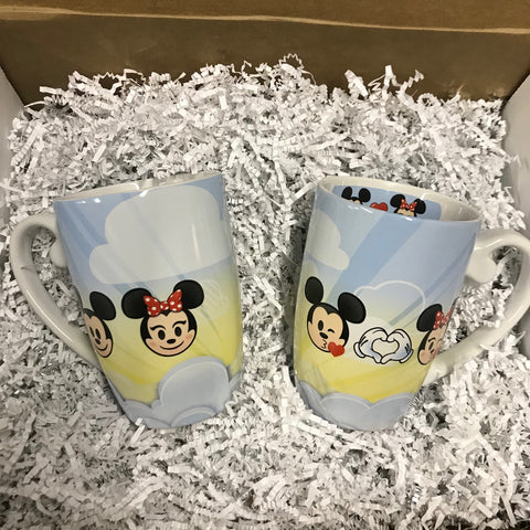 Mug - Mickey & Minnie Emoji
