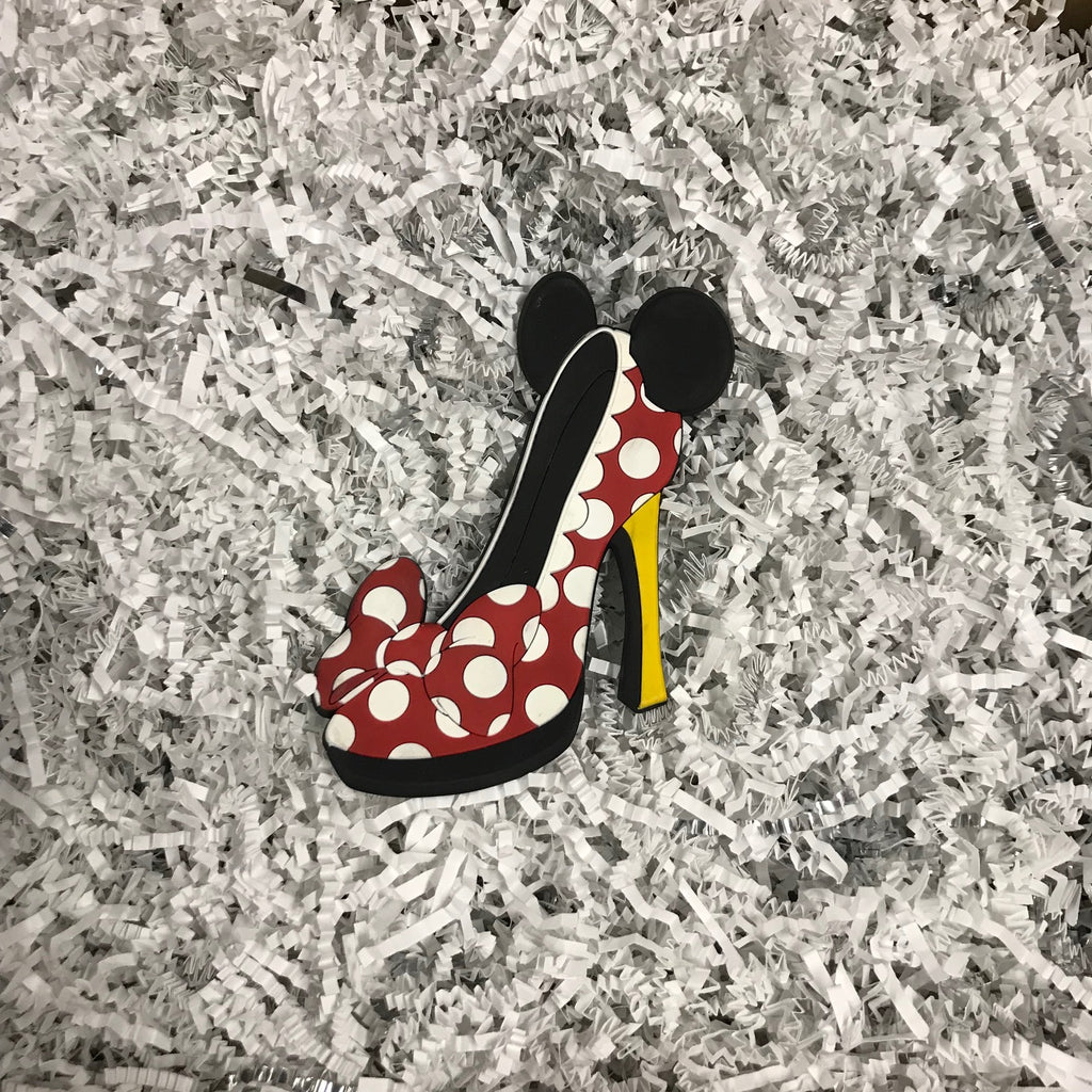 Magnet - Minnie Mouse High Heel