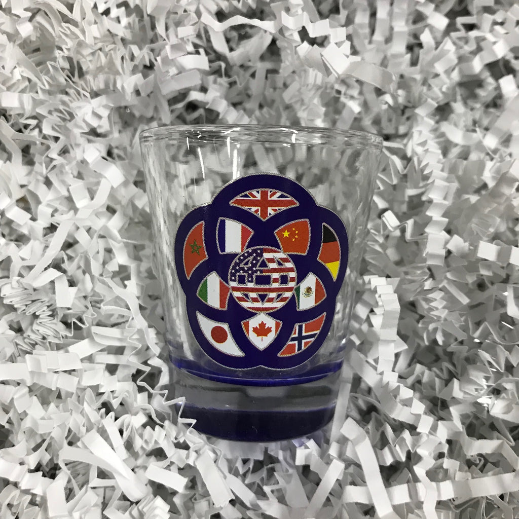 Shot Glass - EPCOT35 World Showcase