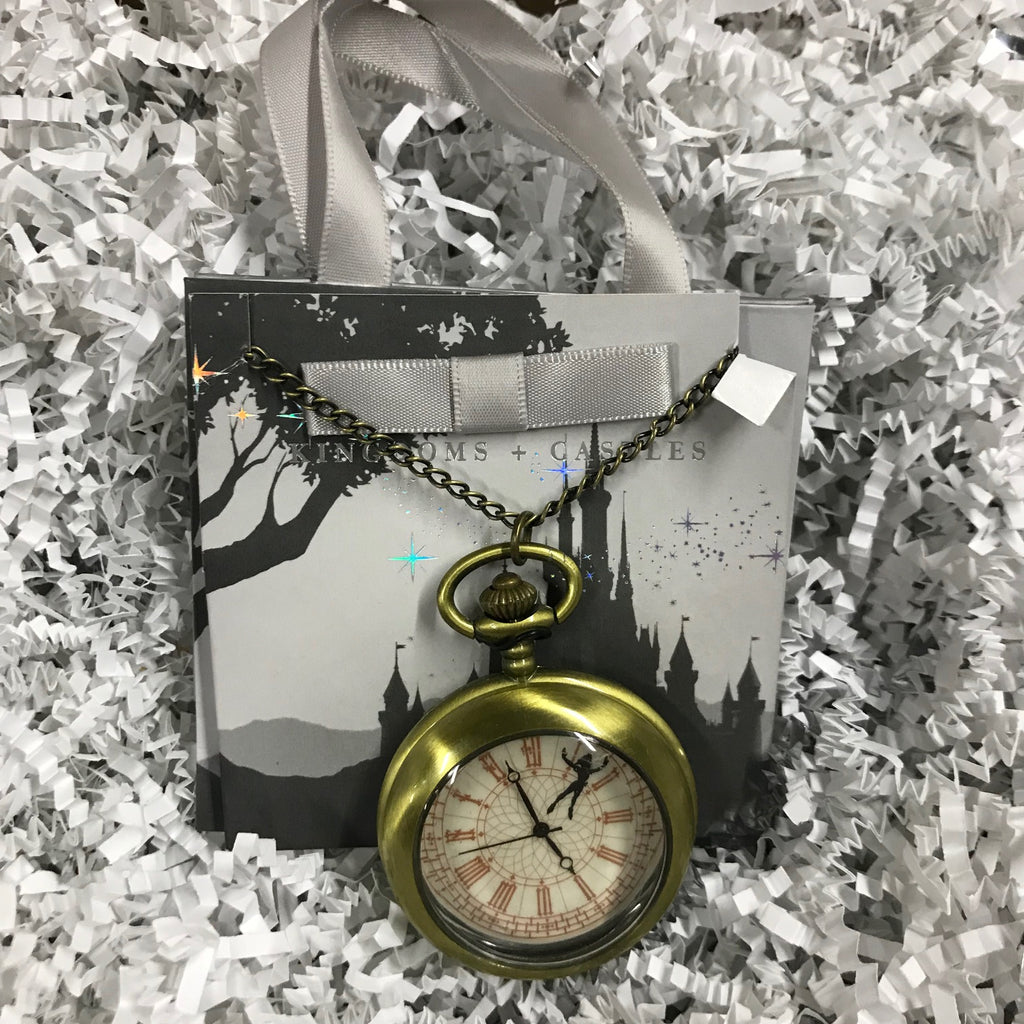 Jewelry - Peter Pan Pocket Watch Necklace