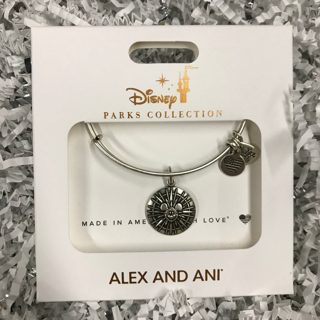 Jewelry - Alex & Ani Mickey's Fun Wheel Bangle Bracelet