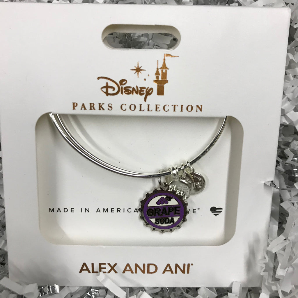 Jewelry - Alex & Ani Up: Grape Soda Bangle Bracelet