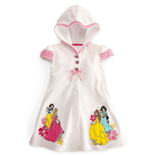 Wishlist - Swim - Cover Up: Multi_Princess (White) - Youth Size 2/3
