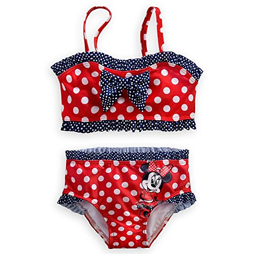 Wishlist - Swim - 2Pc: Minnie Red, White & Blue - Youth Size 3