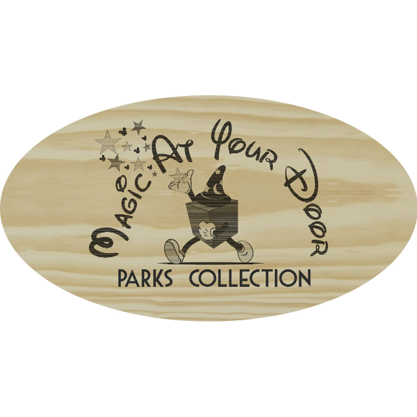 Disney Parks Engraved Art Collection | Magic At Your Door