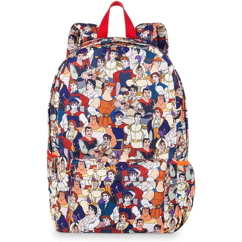 Wishlist - Backpack: Disney Prince AOP