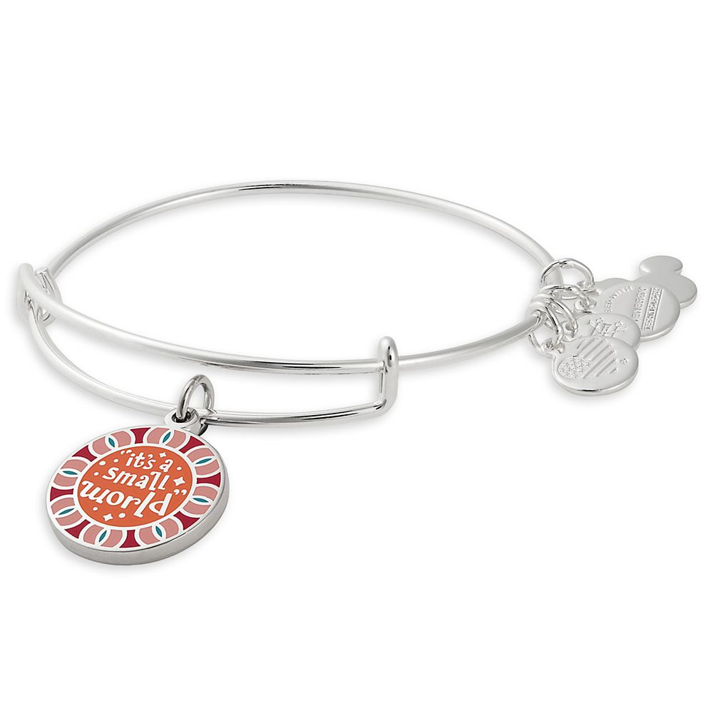 Bracelet: it's a small world (Alex and Ani - Silver)