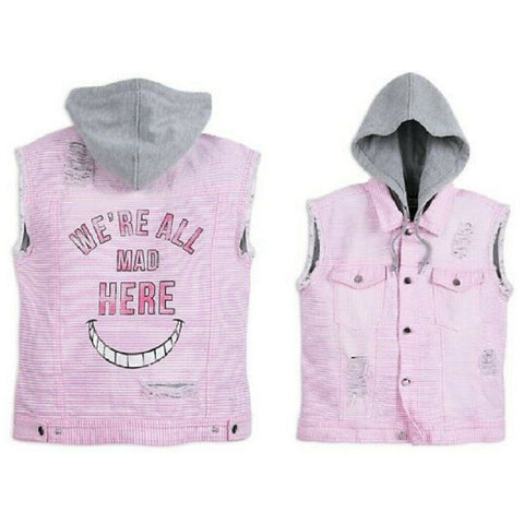 Wishlist - Apparel - Hooded Vest: Cheshire Cat - Women's Large