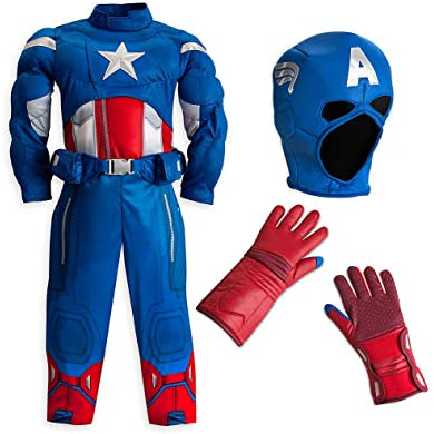 Costume: Captain America (Muscle)