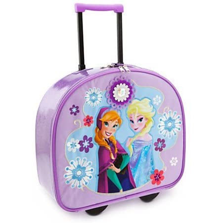 Rolling Luggage: Frozen (Purple)
