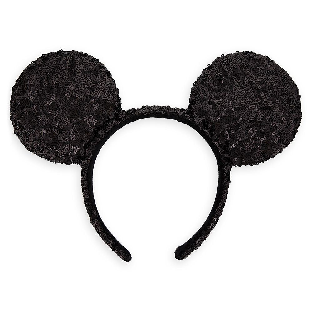 Wishlist - Ear Headband: Mickey Mouse Black Sequin