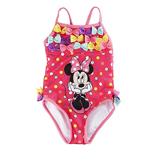 Swim: Minnie 1 Piece (Bows)
