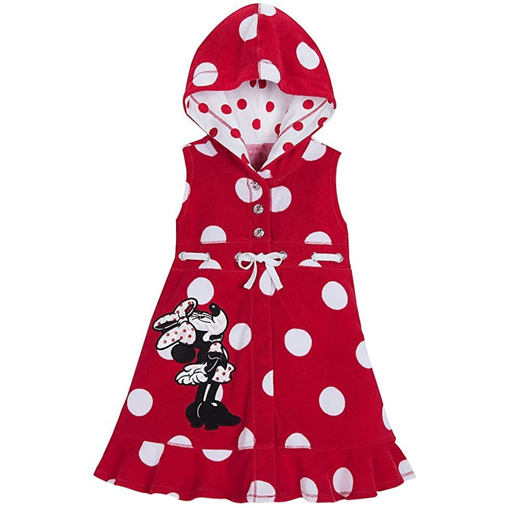 Wishlist - Swim - Cover Up: Minnie Mouse (Red) - Youth Size 7/8