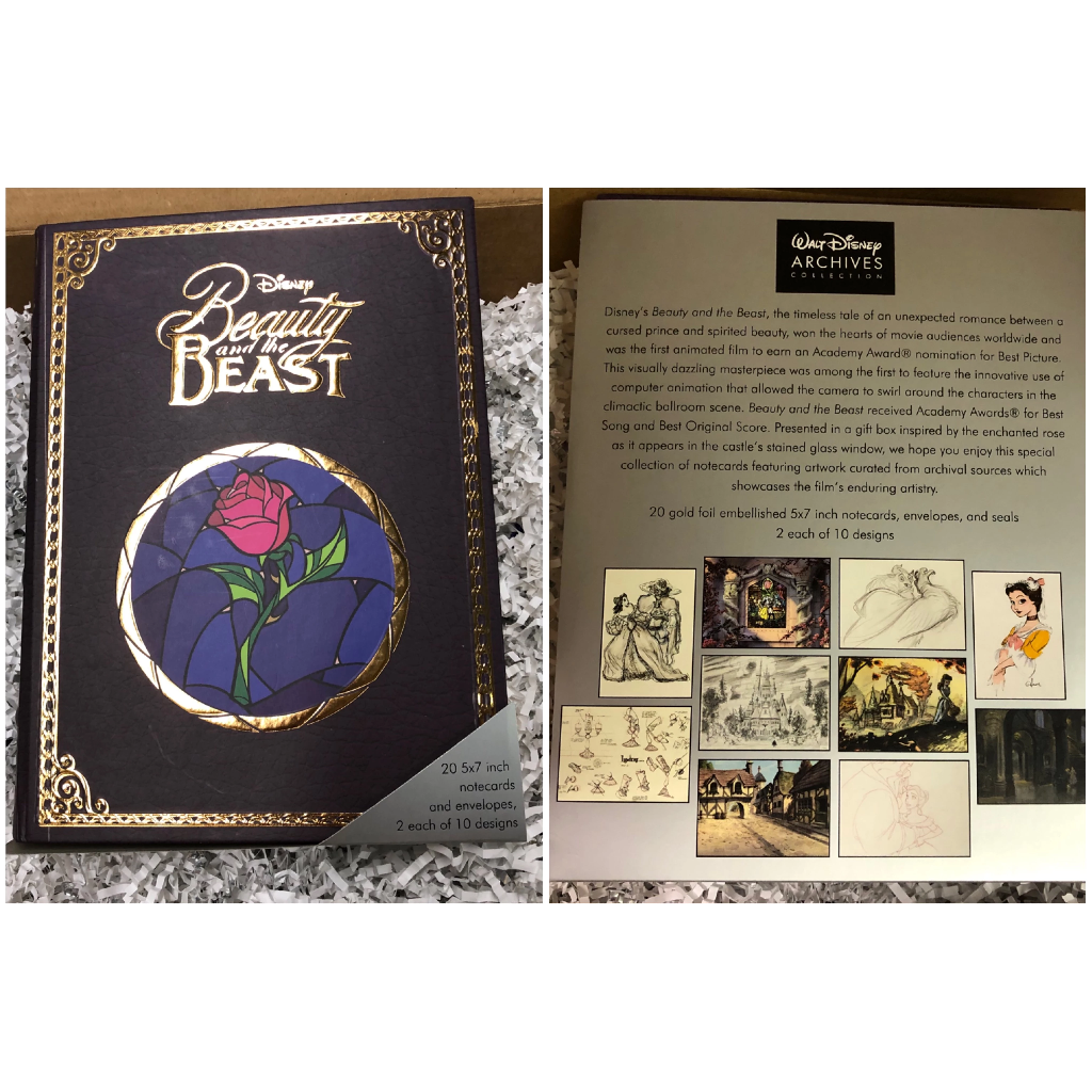 Notecard Set: Beauty and the Beast