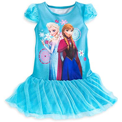 Nightshirt: Frozen (Blue - Deluxe)