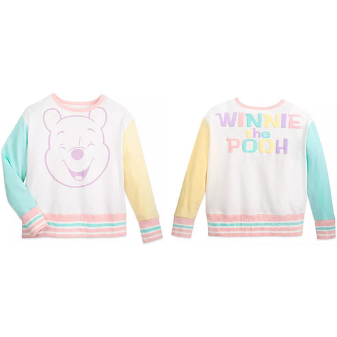 Wishlist - Apparel - Pullover (Fleece): Pooh Pastel - 1 - Women's Small