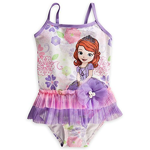 Wishlist - Swim - 1Pc: Sofia The First (Deluxe White) - Youth Size 5/6
