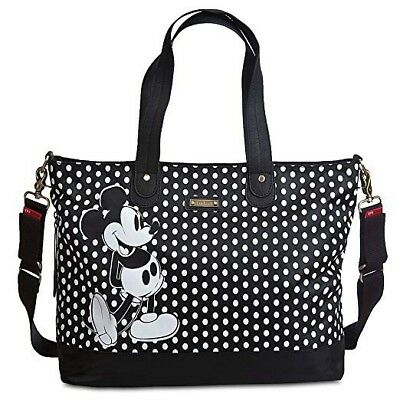Wishlist - Diaper Bag: Mickey By Storksak (Black & White)*