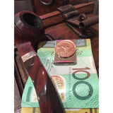 AUSTRALIAN HALF PENNY - MONEY CLIP | Vintage Spirit - Handcrafted Coin Creations