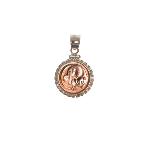AUSTRALIAN 1 CENT - TWISTED ROPE BEZEL