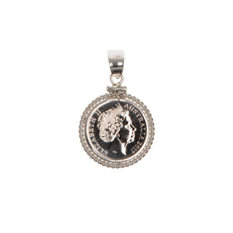 AUSTRALIAN 5 CENT - TWISTED ROPE BEZEL