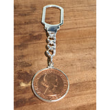 AUSTRALIAN PENNY - TENSION LOCK KEYCHAIN | Vintage Spirit - Handcrafted Coin Creations