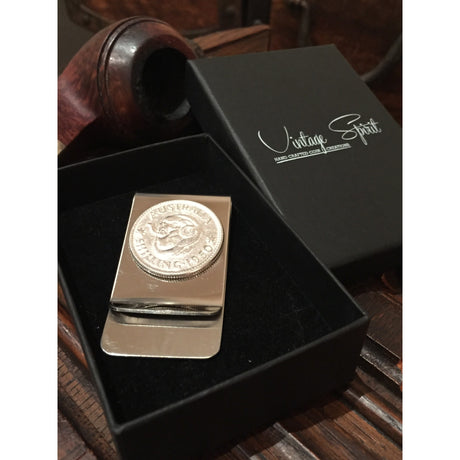 AUSTRALIAN SHILLING MONEY CLIP - BOX