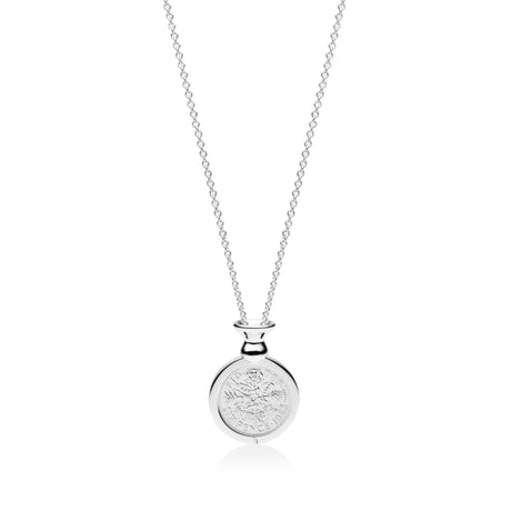 VS Custom Collection - Hand Finished Cup Pendant - British Sixpence