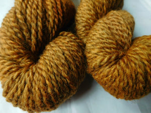 Autumn Orange - Bulky Coopworth Farm Yarn