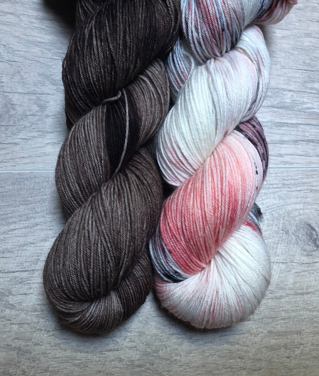 Pecan / Beauty From Ashes Sock Weight Yarn Kit