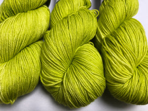 Lime Light- Orli- Sock Weight Yarn