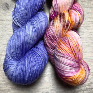 Iris / Birthday Sock Weight Yarn Kits