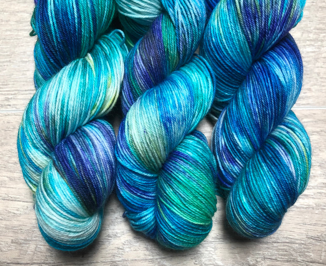 Ocean Reef Sock Weight Yarn - Orli