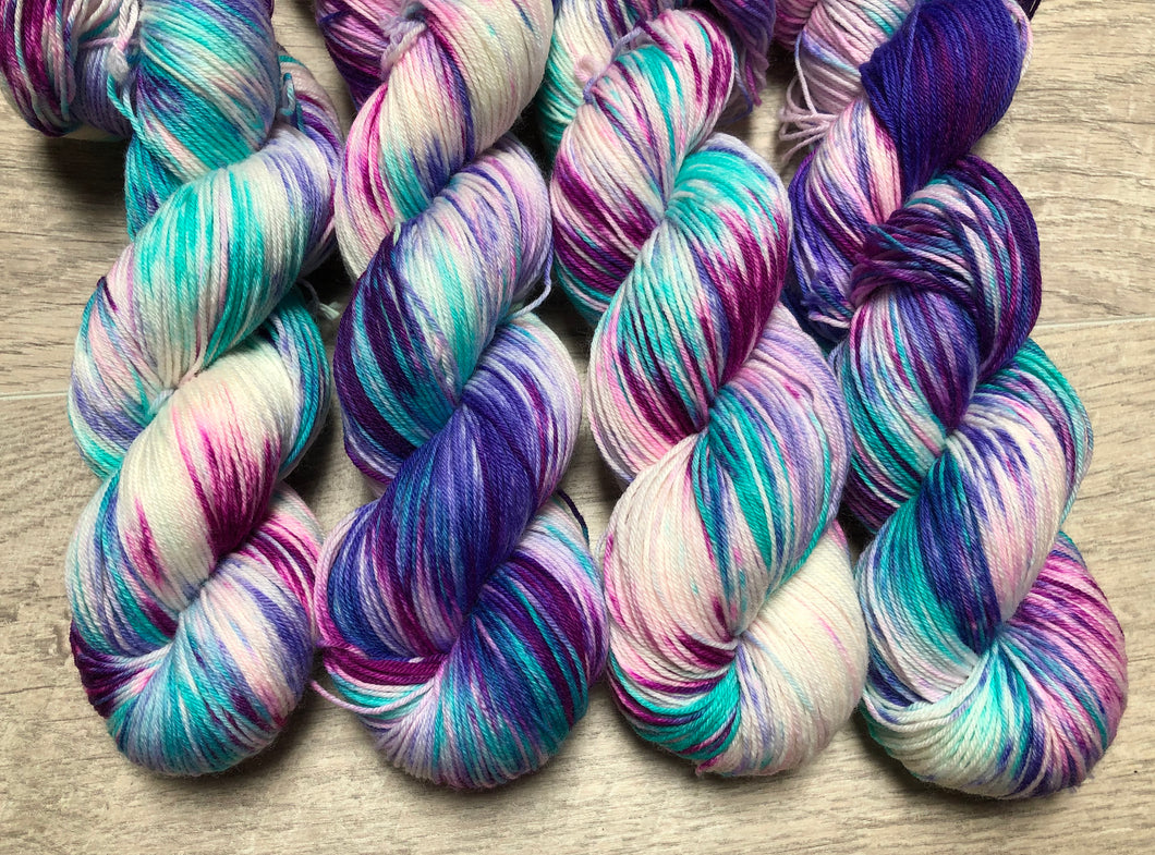 Unicorn Sock Weight Yarn - Orli