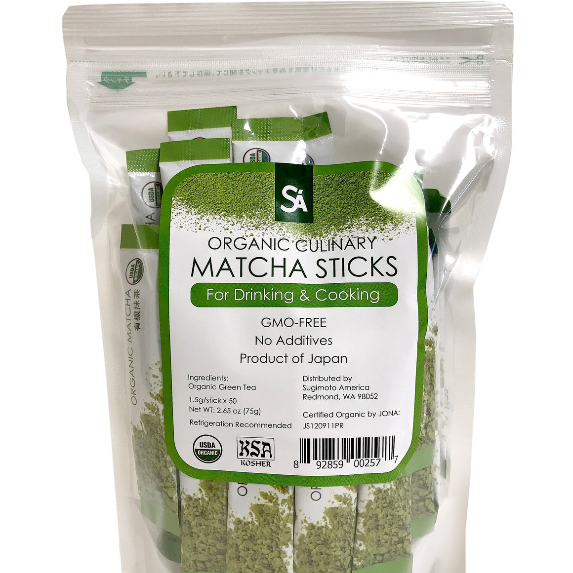 Organic Matcha Sticks