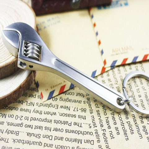 Adjustable Tool Wrench Key-Chain