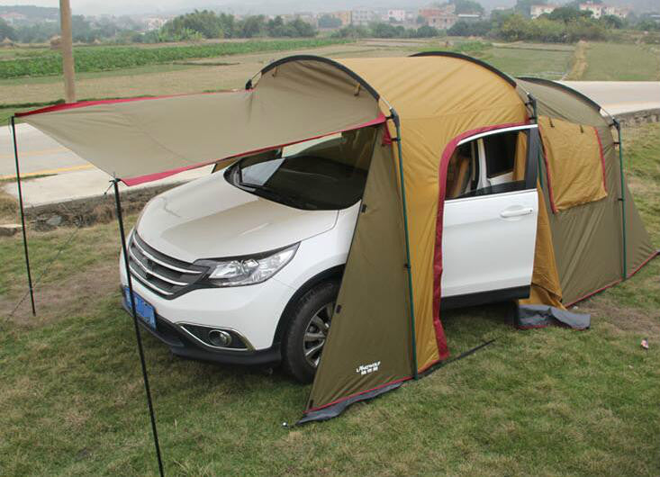 Outdoor 5-8 Persons Car Travel Tent For C&ing & Outdoor 5-8 Persons Car Travel Tent For Camping u2013 GlobalHypercars