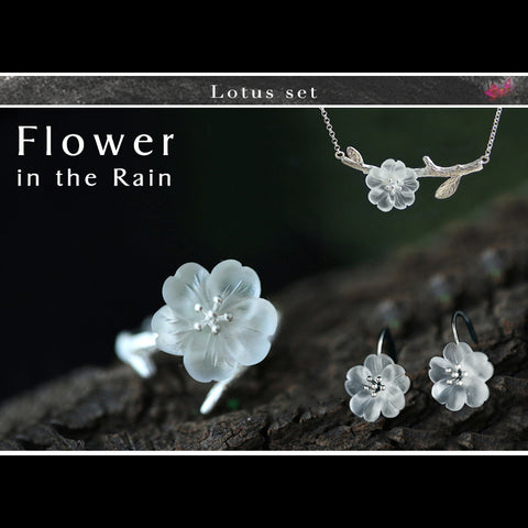 """The Silver Flower"" - Set"