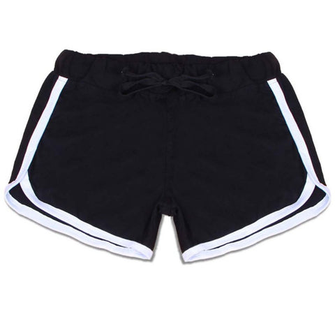 Women Sexy Sports Yoga Drawstring Shorts, Fitness Exercise Shorts, Pilate Women's Shorts